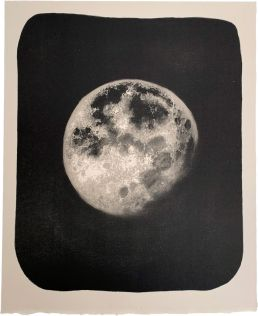 Moon Drawing Lithography